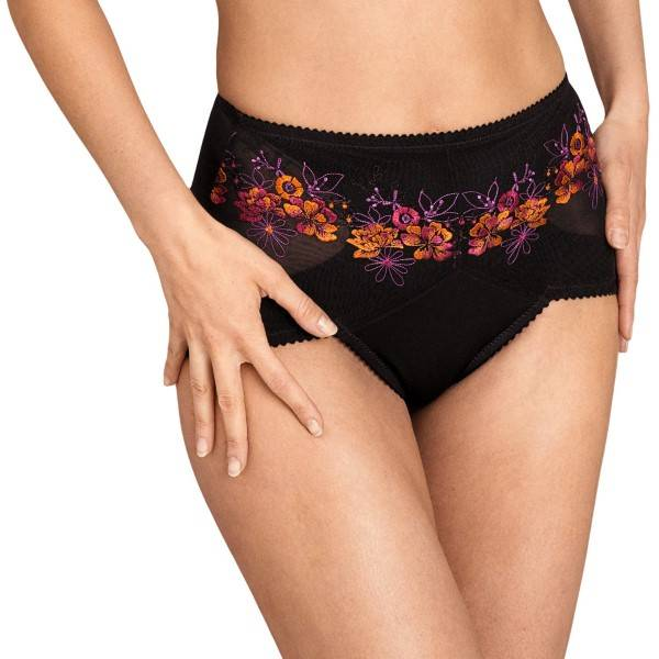 Miss Mary of Sweden Miss Mary Floral Sun Panty Girlde - Red  - Size: 8403 - Color: punainen
