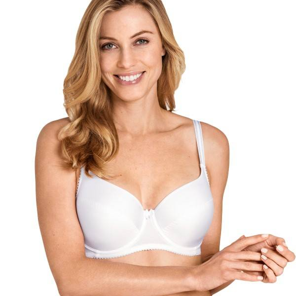 Miss Mary of Sweden Miss Mary Joy Underwire Bra - White  - Size: 5200 - Color: valkoinen