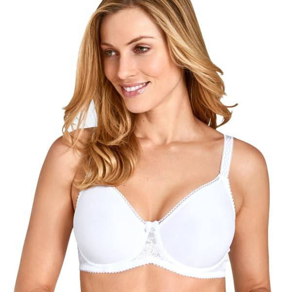 Miss Mary of Sweden Miss Mary Cooling Molded Underwire Bra - White