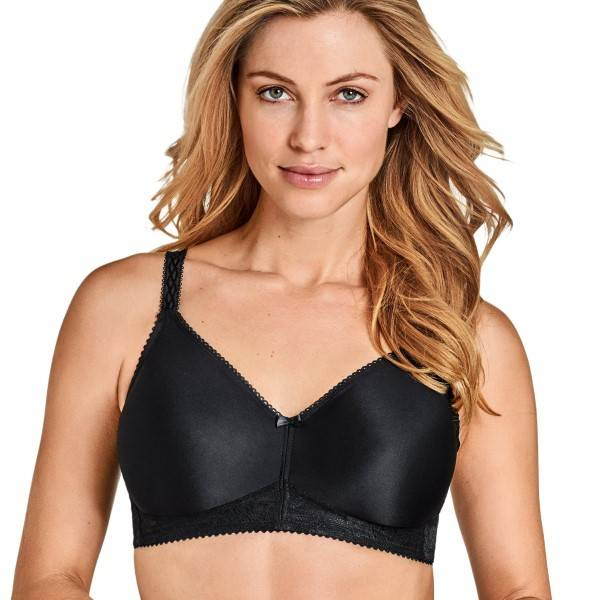 Miss Mary of Sweden Miss Mary Cooling Molded Soft Bra - Black  - Size: 2790 - Color: musta
