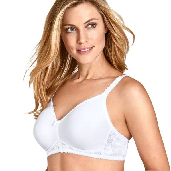 Miss Mary of Sweden Miss Mary Cooling Molded Non-Wired Bra - White