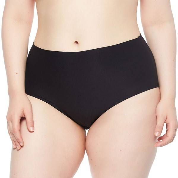 Chantelle Soft Stretch Full Brief Plus Size - Black