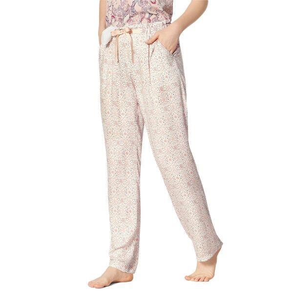 Triumph Lounge Me Natural Mix and Match Trousers - Pink Pattern * Kampanja *  - Size: 10202423 - Color: vaal.pun.kuvio