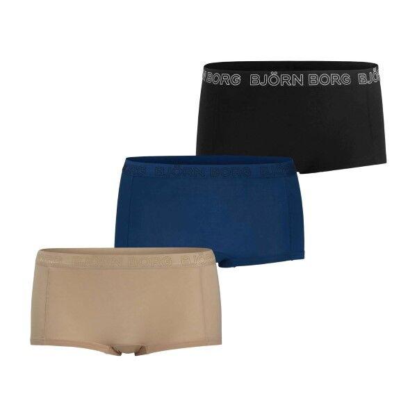 Björn Borg 3 pakkaus Core Tencel Minishorts Solids - Mixed  - Size: 9999-1265 - Color: Multi-colour