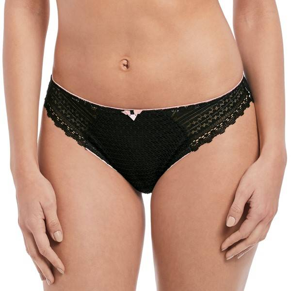 Freya Daisy Lace Brief - Black  - Size: AA5135 - Color: musta