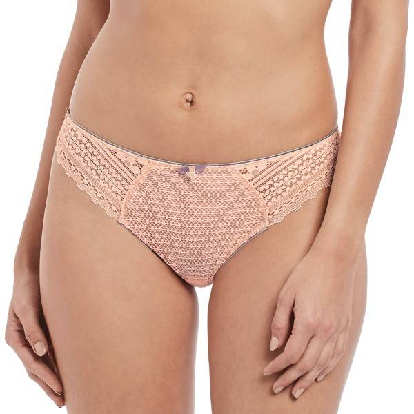 Freya Daisy Lace Brief - Lightpink  - Size: AA5135 - Color: vaalea roosa