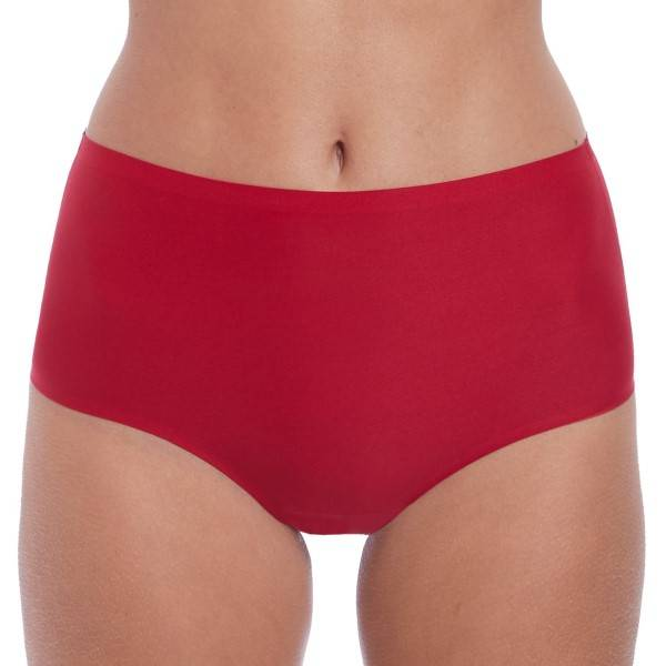 Fantasie Smoothease Invisible Stretch Full Brief - Red  - Size: FL2328 - Color: punainen