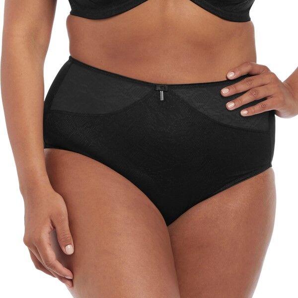 Elomi Mia Full Brief - Black  - Size: EL4365 - Color: musta