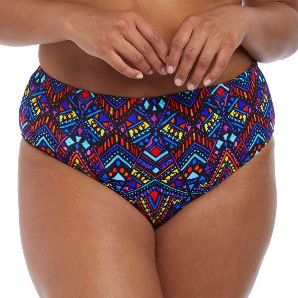 Elomi Swim Aztek Bikini Brief - Mixed * Kampanja *  - Size: ES7124 - Color: Multi-colour