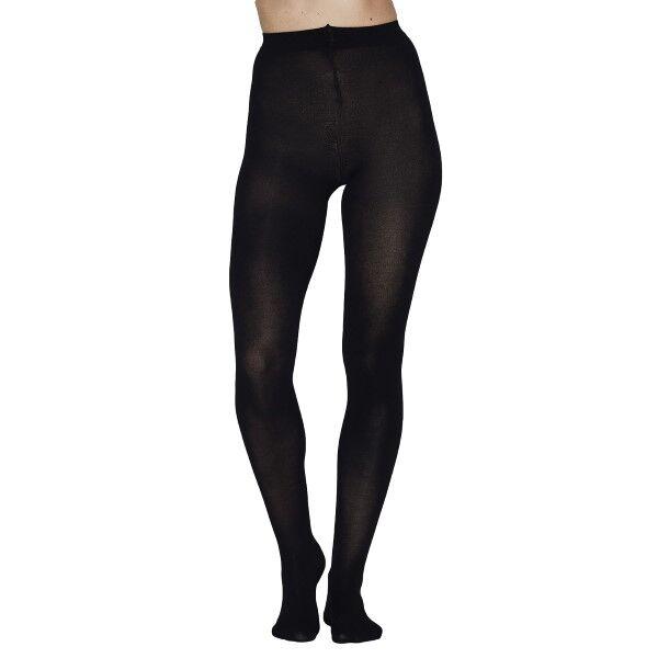 JBS of Denmark Organic Cotton Pantyhose Tights - Black  - Size: 3000-75 - Color: musta