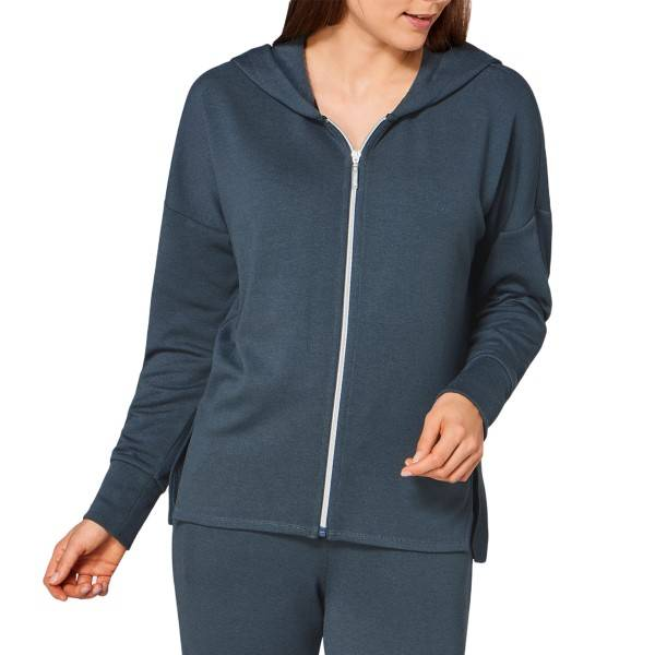 Triumph Lounge Me Cotton Climate Thermal Jacket - Petrol * Kampanja *  - Size: 10199526 - Color: Petroli