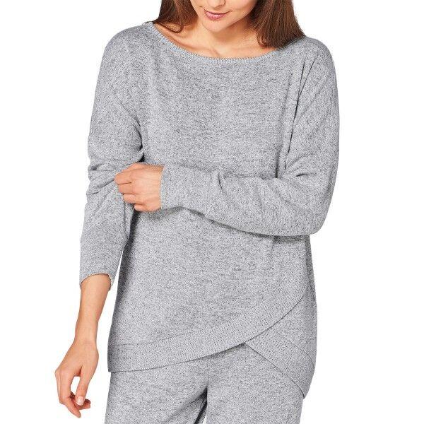 Triumph Lounge Me Cotton Climate Thermal Sweater - Grey * Kampanja *  - Size: 10199581 - Color: harmaa