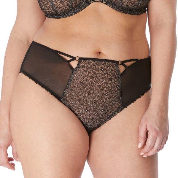 Elomi Sadie Cheeky Brief - Black  - Size: EL4436 - Color: musta