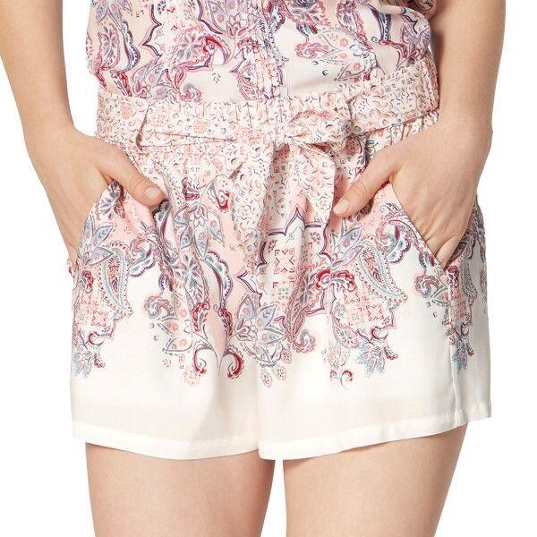 Triumph Lounge Me Natural Shorts - Pink Pattern * Kampanja *  - Size: 10202409 - Color: vaal.pun.kuvio