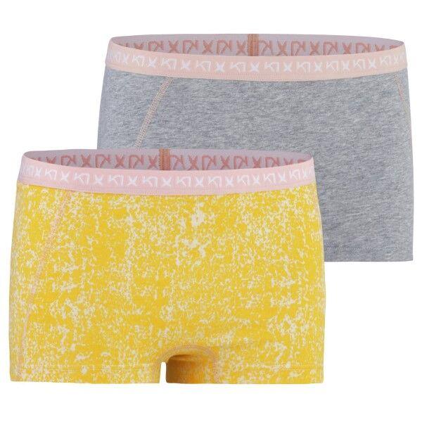 Kari Traa Dekorativ Hipster - Grey/Yellow  - Size: 611144 - Color: harma/keltain.