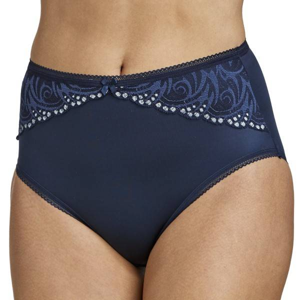 Miss Mary of Sweden Miss Mary Flames Panty - Darkblue  - Size: 4667 - Color: tummansin.