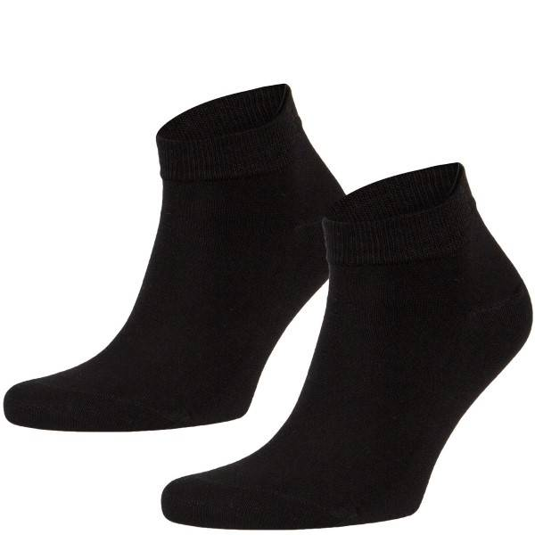 Frank Dandy Bamboo Ankle Socks - Black