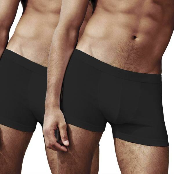Fruit of the Loom 2 pakkaus Classic Shorty - Black