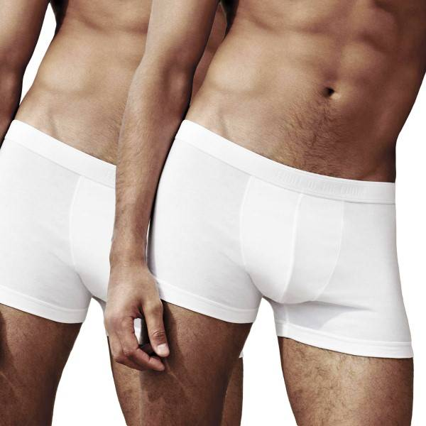 Fruit of the Loom 2 pakkaus Classic Shorty - White