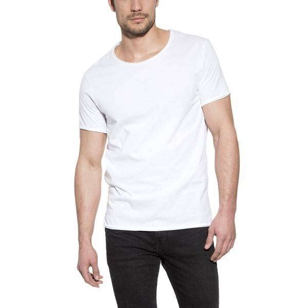 Bread & Boxers Bread and Boxers Crew Neck Relaxed - White  - Size: 103301 - Color: valkoinen