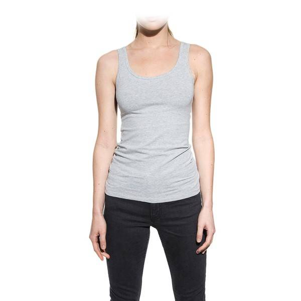 Bread & Boxers Bread and Boxers Tank Woman - Grey  - Size: 604303 - Color: harmaa