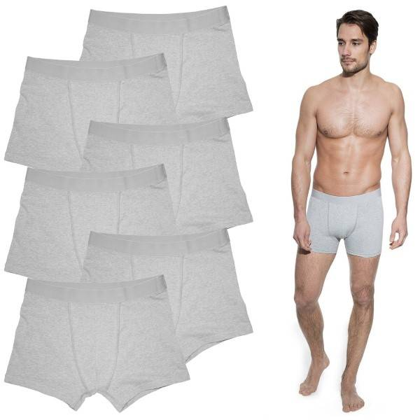 Bread & Boxers Bread and Boxers Boxer Briefs 6 pakkaus - Grey * Kampanja *  - Size: 232303 - Color: harmaa