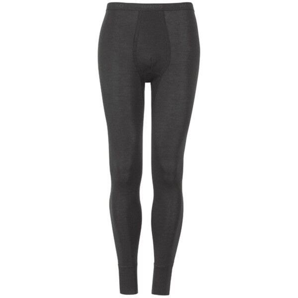 Hanro Woolen Silk Long Leg Underwear - Black