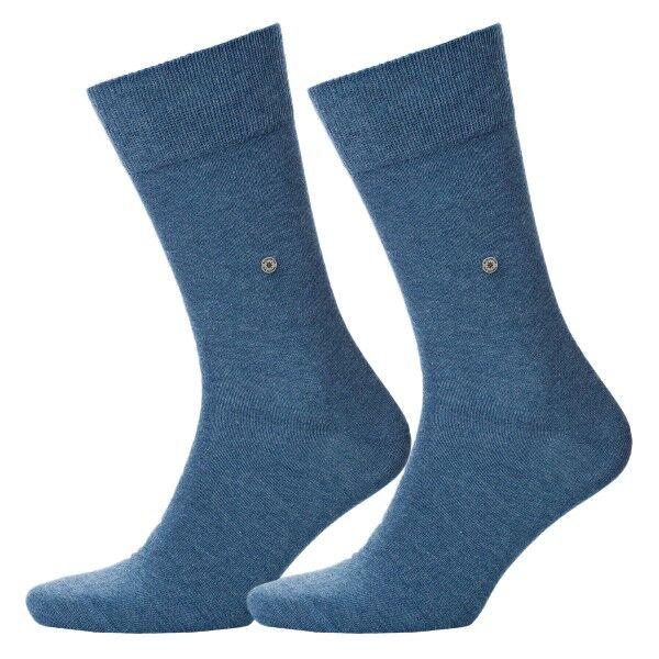 Burlington 2 pakkaus Everyday Cotton Sock - Denim