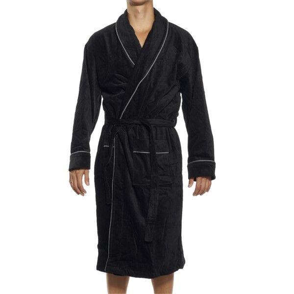 JBS Bath Robe - Black