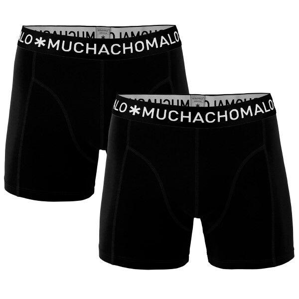 Muchachomalo 2 pakkaus Solid Boxer UPP1 - Black