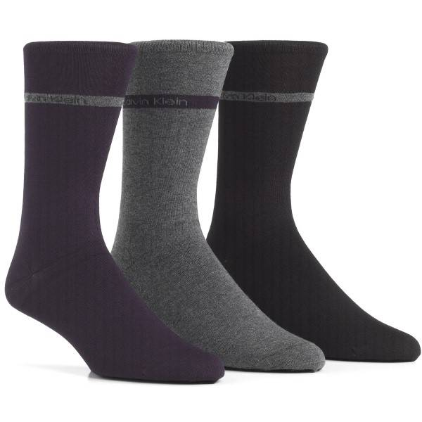 Calvin Klein 3 pakkaus Adam Bamboo Socks - Navy-2