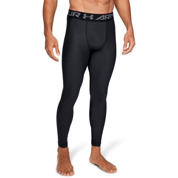 Under Armour HeatGear Compression Leggings - Black  - Size: 1289577 - Color: musta