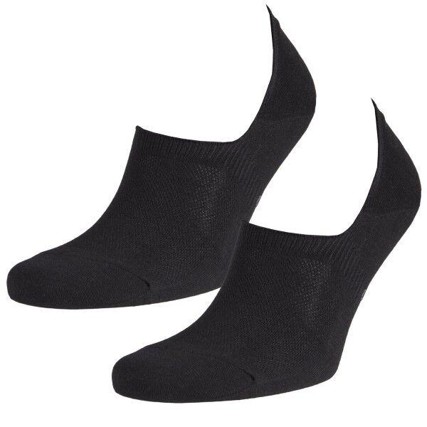 Image of Calvin Klein 2 pakkaus Caleb Dress No Show Liner Socks - Black