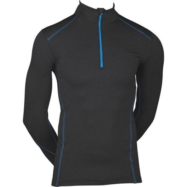 JBS Proactive Long Sleeve Zipper 426-16 - Black  - Size: 426-16 - Color: musta