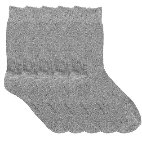 Resteröds 5 pakkaus Bamboo Socks - Light grey  - Size: 7255-7501 - Color: vaaleanharm.