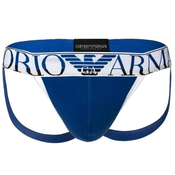 Emporio Armani Trendy Magnum Jockstrap - Blue * Kampanja *
