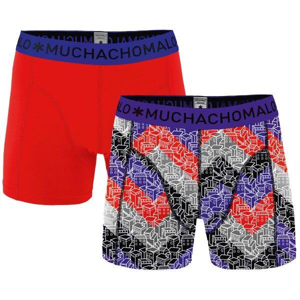 Muchachomalo 2 pakkaus Gettin Lost Boxer - Red/Lilac
