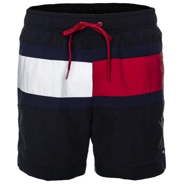 Tommy Hilfiger ColorBlock Medium Swim Shorts - Black * Kampanja *  - Size: UM0UM01070 - Color: musta