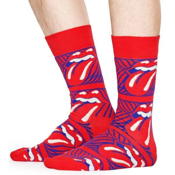 Happy Socks Rolling Stones Stripe Me Up Sock - Mixed  - Size: RLS01-4300 - Color: Multi-colour