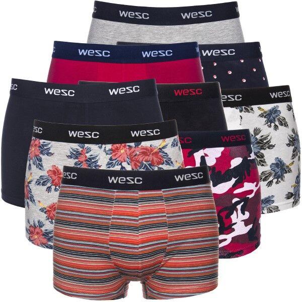 WESC 9 pakkaus Mixpack Boxer Briefs - Mixed * Kampanja *
