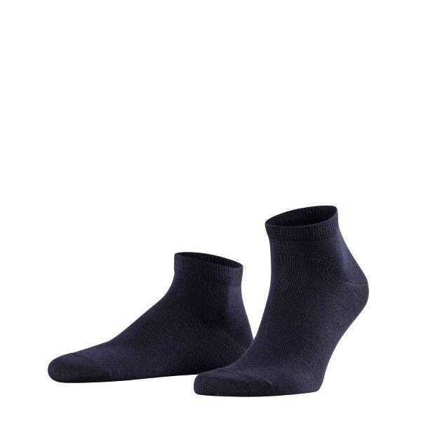 Falke 2 pakkaus Happy Sneaker Socks - Navy-2  - Size: 14606 - Color: Merensininen