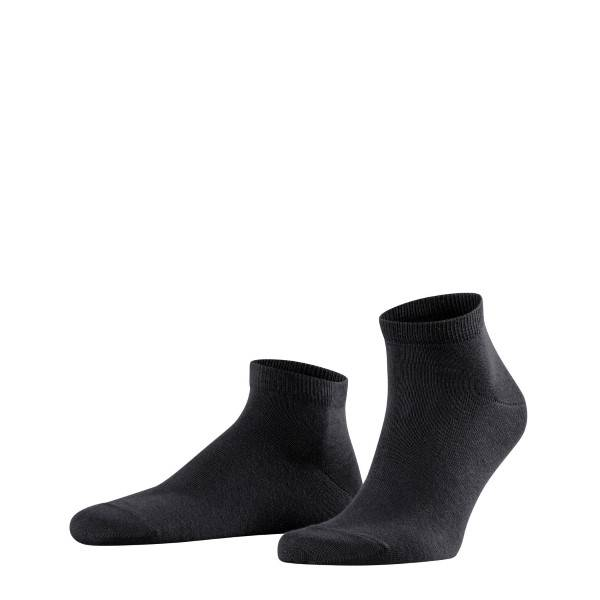 Falke 2 pakkaus Happy Sneaker Socks - Black  - Size: 14606 - Color: musta