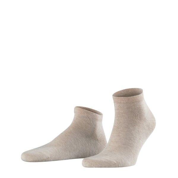Falke 2 pakkaus Happy Sneaker Socks - Sand  - Size: 14606 - Color: hiekka