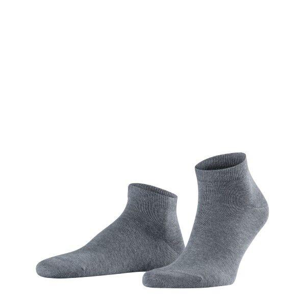 Falke 2 pakkaus Happy Sneaker Socks - Grey  - Size: 14606 - Color: harmaa