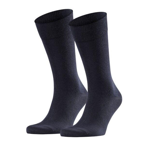 Falke 2 pakkaus Happy Socks - Navy-2  - Size: 14610 - Color: Merensininen