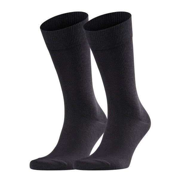 Falke 2 pakkaus Happy Socks - Black  - Size: 14610 - Color: musta