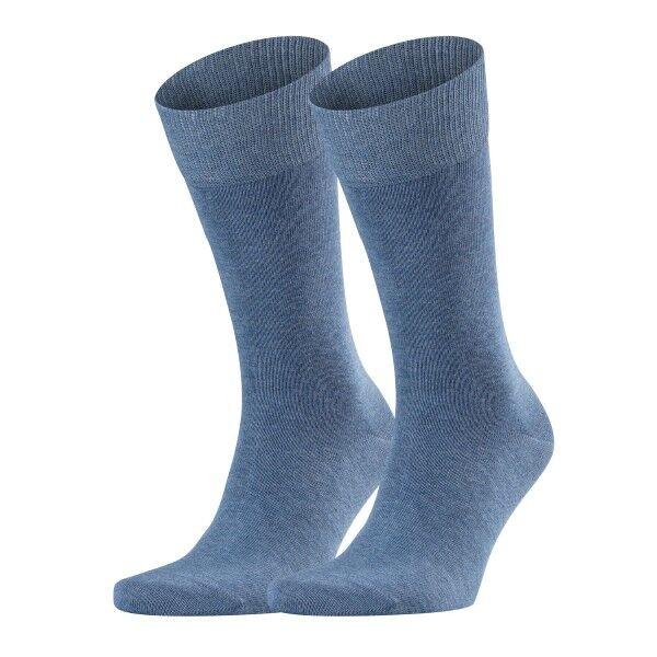 Falke 2 pakkaus Happy Socks - Denim-2  - Size: 14610 - Color: Denim