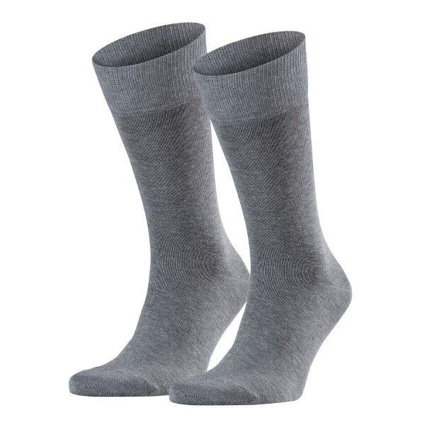 Falke 2 pakkaus Happy Socks - Grey  - Size: 14610 - Color: harmaa