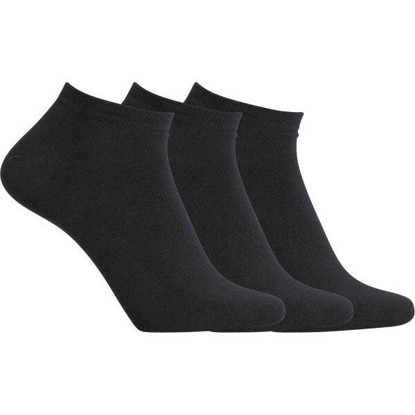 CR7 Cristiano Ronaldo 3 pakkaus Ankle Socks - Black  - Size: 8170-70 - Color: musta