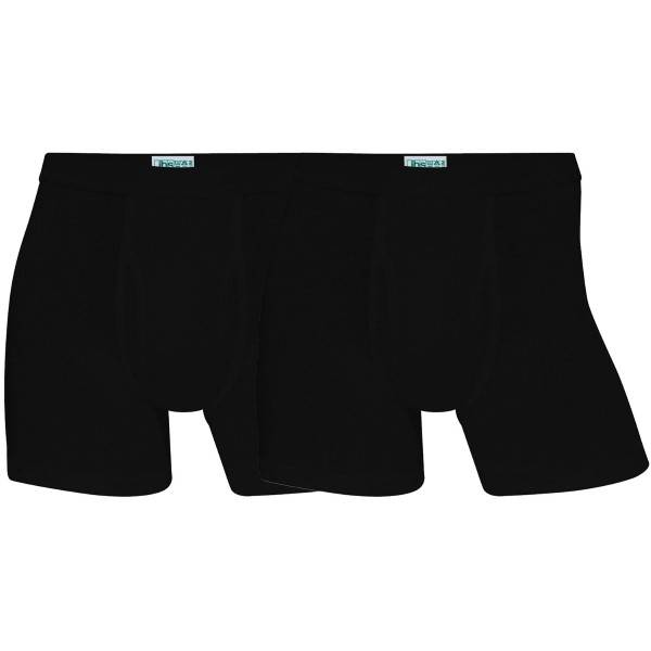 JBS 2 pakkaus Organic Cotton Tights - Black  - Size: 380 06 - Color: musta